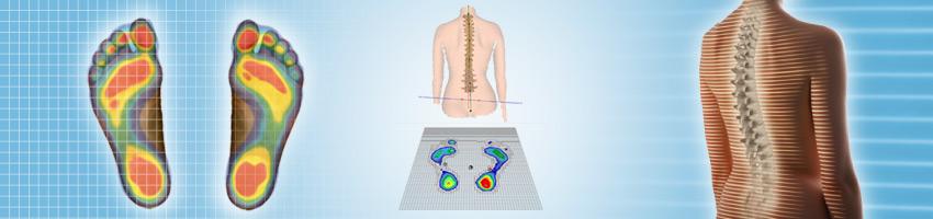 analiza kręgosłupa metodą DIERS Formetric 4D. Graficzne przedstawienie wyników badań.